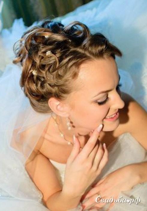 свадебные прически ирина костальская