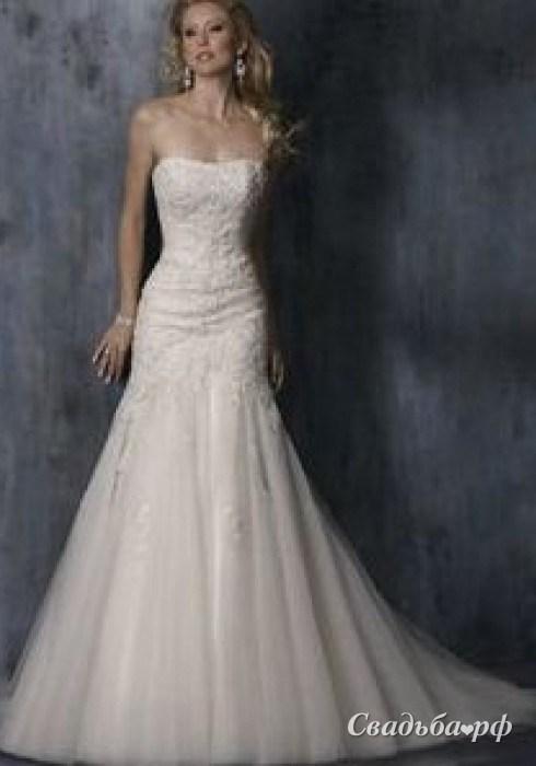 Оттенки белых свадебных платьев